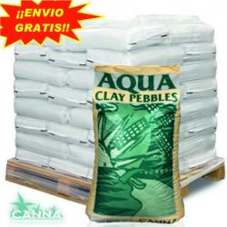 Arcilla Expandida Aqua Clay 45LT Canna ( PALET 55 SACOS )
