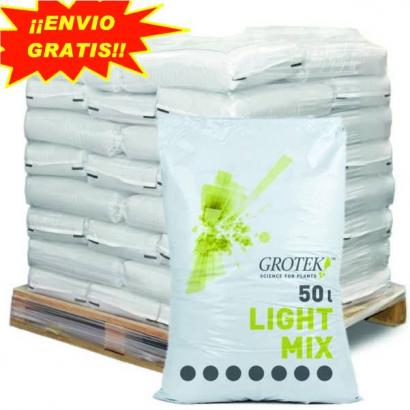 Sustrato Light Mix 50lt Grotek