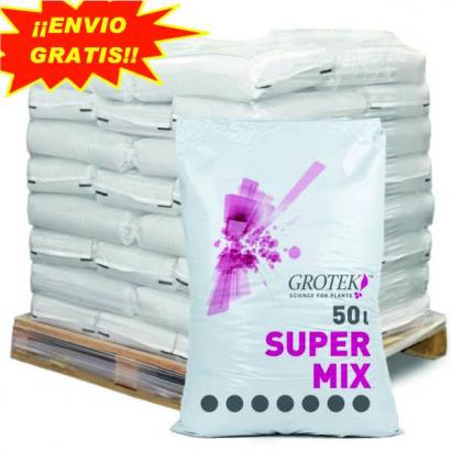 Sustrato Super Mix 50lt Grotek