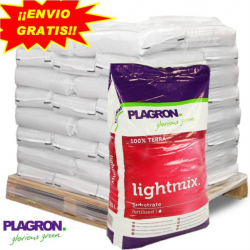 Sustrato Light Mix 50LT Plagron (PALET 60 SACOS)