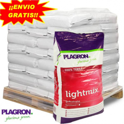 Sustrato Light Mix 50LT Plagron (PALET 60 SACOS) PLAGRON SUSTRATO LIGHT