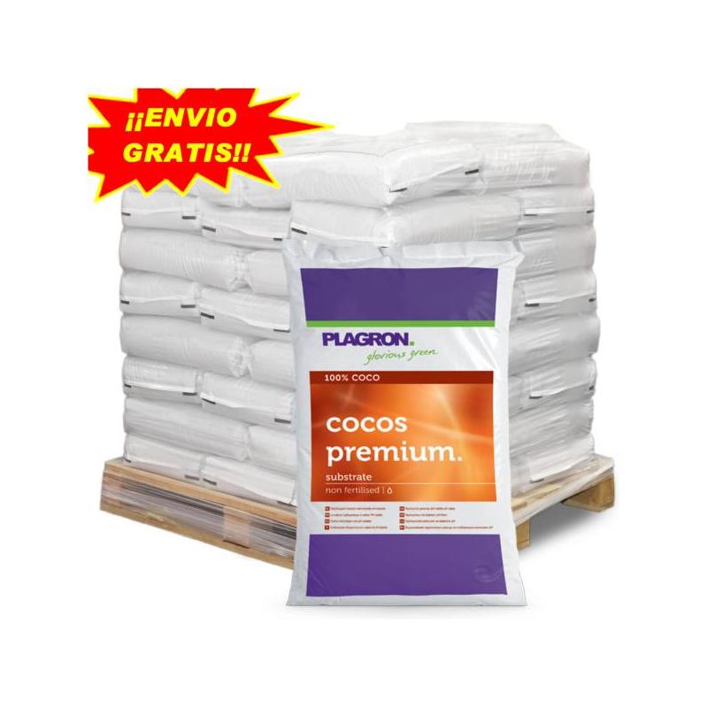 Sustrato Coco Premium 50lt Plagron (PALET 60 SACOS) PLAGRON SUSTRATO DE COCO