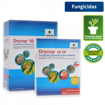 Drycop 50 DF 60gr por sobre Sipcam (1 sobre) SIPCAM FUNGICIDAS BIO