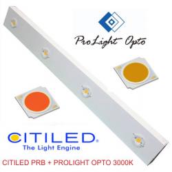 luminaria LED 110w Citiled PRB + Prolight Opto 3000k (CRI80)