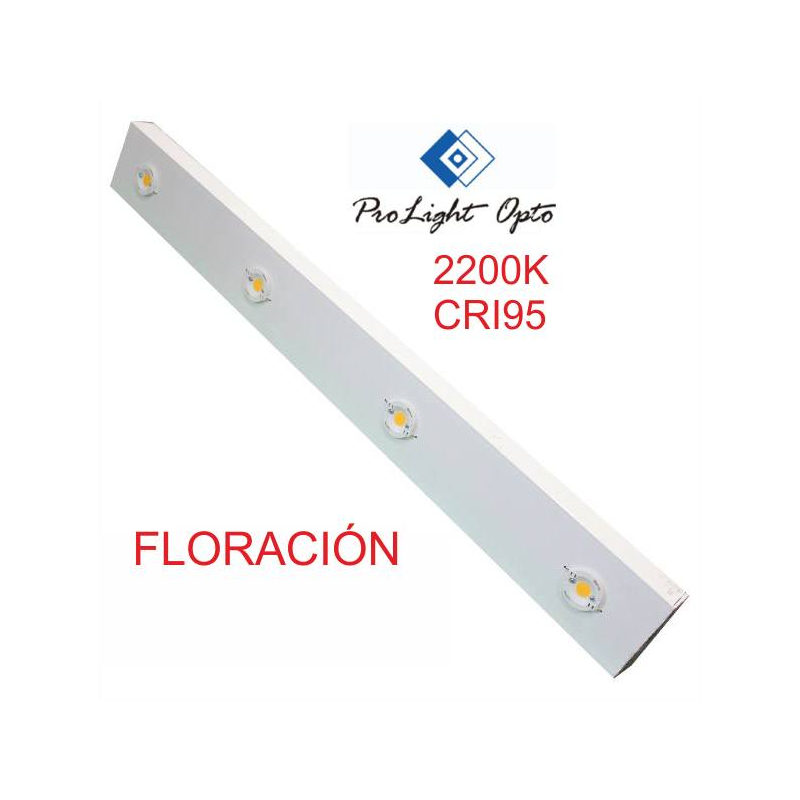 luminaria LED 110w Prolight Opto CRI95 (barra 90cm) FLORACIÓN LED PROLIGHT OPTO