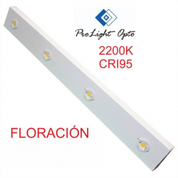 luminaria LED 200w Prolight Opto CRI95 2200K (barra 100cm) FLORACIÓN