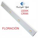 luminaria LED 240w Prolight Opto CRI95 2200K(barra 100cm) FLORACIÓN