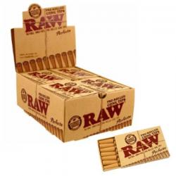 Caja Boquillas RAW pre rolled cone perfecto (20uds)