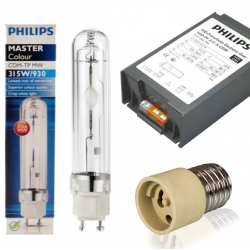 Kit LEC 315w/400v Philips + bombilla Philips CDM-TP MW 930/ 3100k (sin reflector)