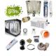 Kit armario 240x120x200cm LEC System 315w + Philips master color Cultivo con armario LEC