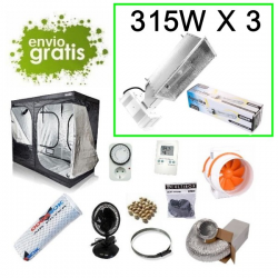 Kit armario LEC AGROLITE 315w 4000K 240x120x200cm 945W