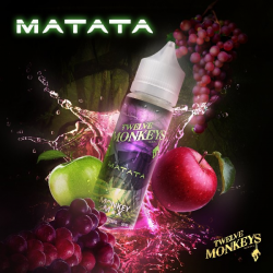 E-liquid Matata 0mg (Booster) 50ml Twelve Monkeys