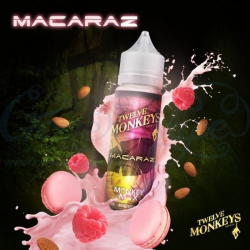 E-liquid Macaraz 0mg (Booster) 50ml Twelve Monkeys