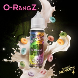 E-liquid Orangz 0mg (Booster) 50ml Twelve Monkeys