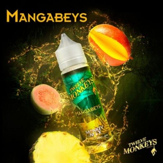 E-liquid Mangabeys 0mg (Booster) 50ml Twelve Monkeys Twelve Monkeys ESENCIAS TWELVE MONKEYS