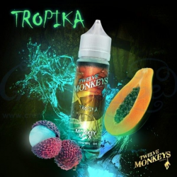 E-liquid Tropika 0mg (Booster) 50ml Twelve Monkeys