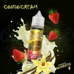 E-liquid Congo Cream 0mg (Booster) 50ml Twelve Monkeys