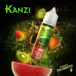 E-liquid Kanzi 0mg (Booster) 50ml Twelve Monkeys