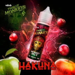 E-liquid Hakuna 0mg (Booster) 50ml Twelve Monkeys