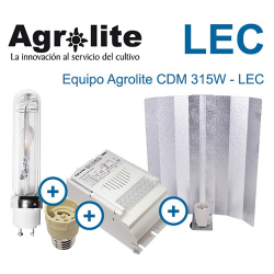 Kit LEC 315w AGROLITE CDM 315w (Reflec Stuko)