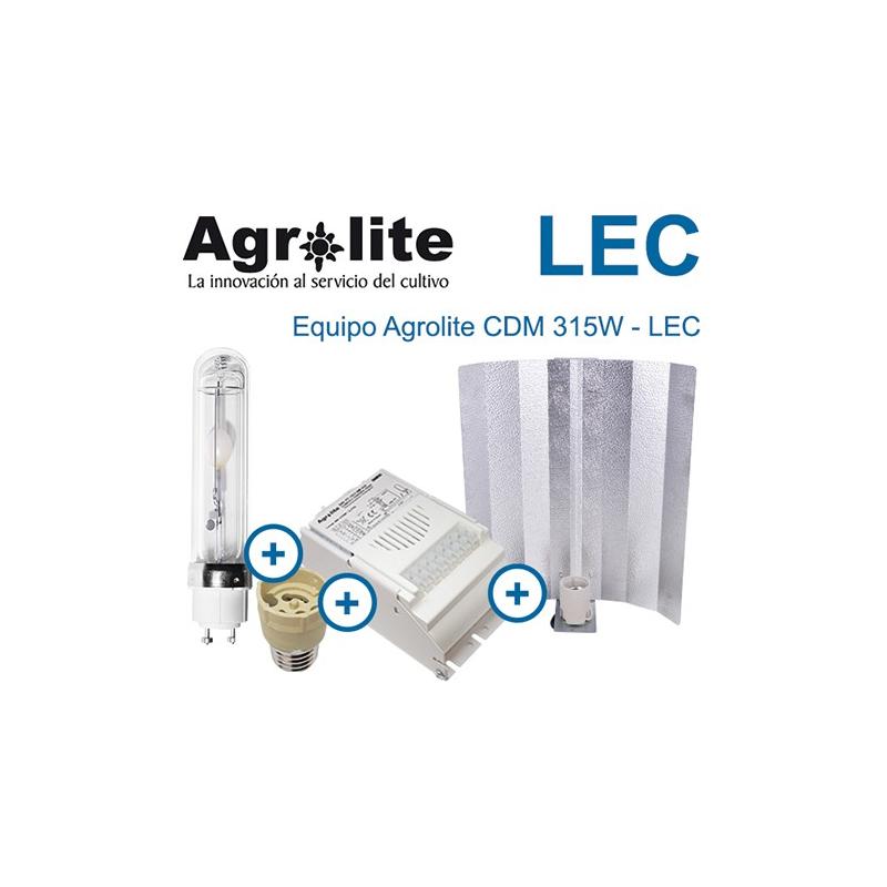 Kit LEC 315w AGROLITE CDM 315w (Reflec Stuko) Otros LEC
