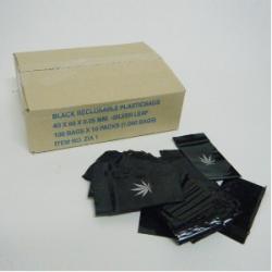 Bolsa Zip 4x6cm 100bolsas (opaca+hoja)