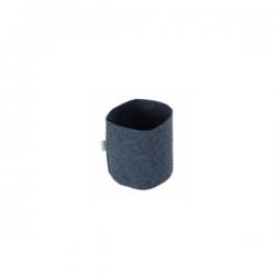 Maceta Agro Tex Pot negra 1lt