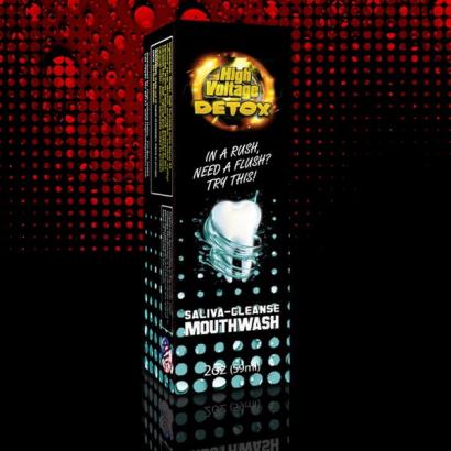 High Voltage Detox Mouthwash 59ml (limpiador bucal) ENMASCARADORES THC