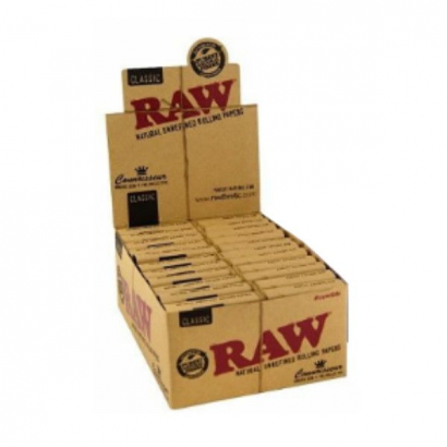 Caja RAW King Size Connoisseur Prerolled (24uds) RAW BOQUILLAS Y FILTROS
