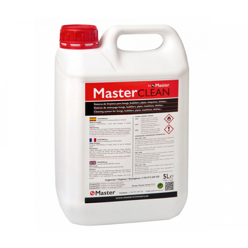 Alcohol limpiador Master Clean 5l LIMPIEZA Y MANTENIMIENTO