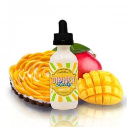 E-Liquid Mango Tart 0mg (Booster) 50ml Dinner Lady