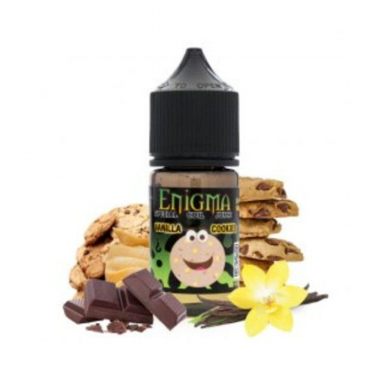 E-Liquid Vanilla Cookies 0mg (Booster) 20ml Enigma  ESENCIAS ENIGMA