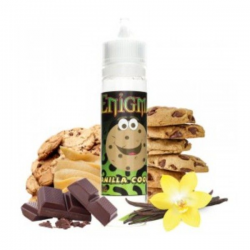 E-Liquid Vanilla Cookies 0mg (Booster) 50ml Enigma  ESENCIAS ENIGMA
