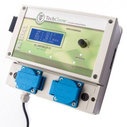 Controlador Co2 T-2 Pro 14A TechGrow Sin Sensor CONTROL Co2