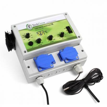 Control Clima Básico Plus 4.5A TechGrow CONTROL MIXTO