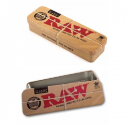 Caja RAW metal Roll Caddy King Size  RAW CAJAS