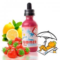 E-Liquid Strawberry Bikini 0mg (Booster) 50ml Dinner Lady