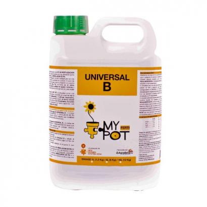 MyPot fertilizante Universal B 5lt MyPot MyPot