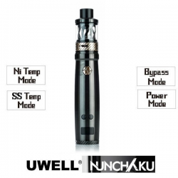 Kit Nunchaku 80w Uwell (Black/Gold) NUNCHAKU