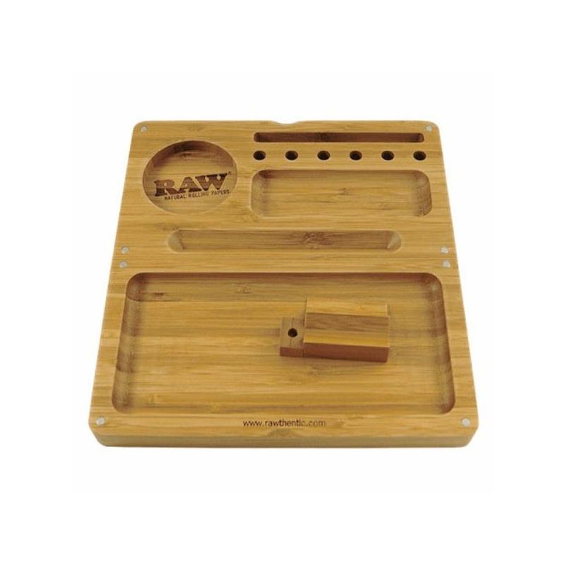 9cf7287e5c95 Caja RAW Liar de Bambú con Imanes RAW BANDEJAS