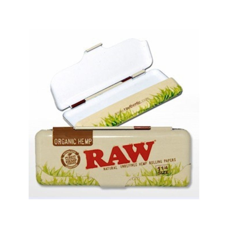 Funda RAW Metal Orgánico Librillo 1 1/4 RAW CAJAS
