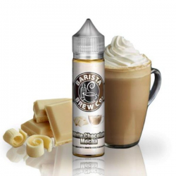 E-Liquid White chocolate Mocha 50ml 0mg (Booster) Barista Brew Co.