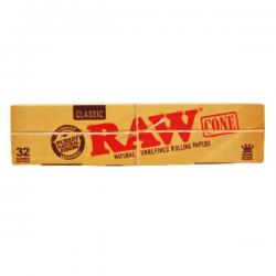 Caja RAW Conos King Size Classic (32 conos)