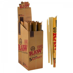Caja Conos RAW-Ket Classic 5 medidas (15 unidades)