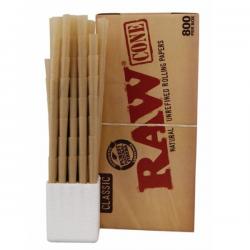 Caja Conos RAW King Size Slim (800 unidades)
