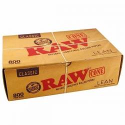Caja Conos RAW Lean Classic (800 unidades)