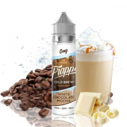E-Liquid White chocolate Mocha Frappe 50ml 0mg (Booster) Pancake Factory