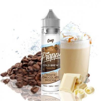 E-Liquid White chocolate Mocha Frappe 50ml 0mg (Booster) Pancake Factory OTRAS MARCAS