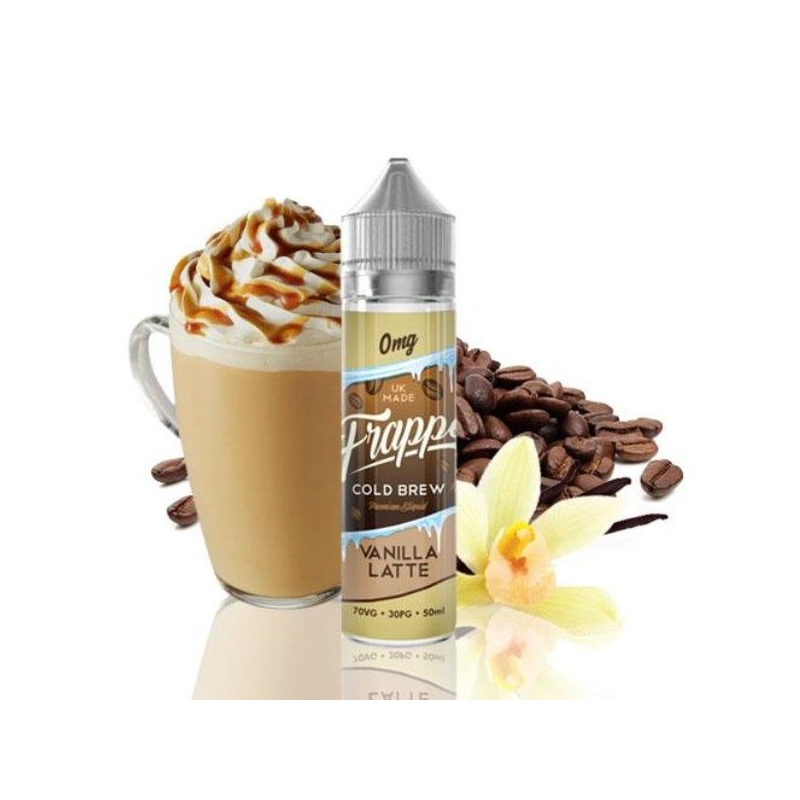 E-Liquid Vanilla Latte Frappe 50ml 0mg (Booster) Pancake Factory OTRAS MARCAS