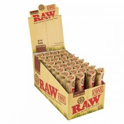 Caja Conos RAW 1 1/4 Orgánico (32 unidades)